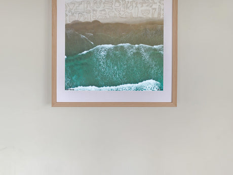 Te Arai Beach  photographic print