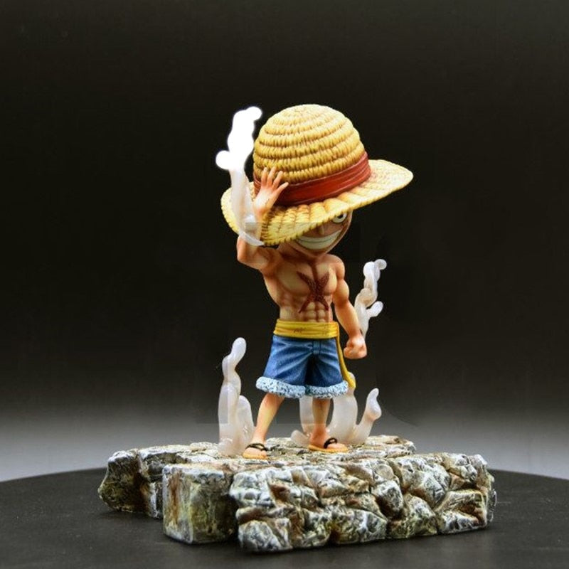 One Piece Straw Hat Pirates Monkey D Luffy Collectible Action Figure