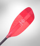 Werner Powerhouse Bent Shaft - Translucent Red