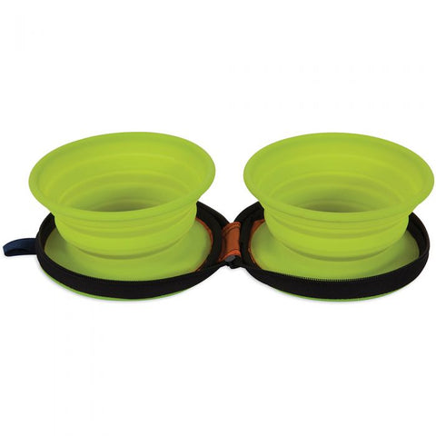 Silicone Travel Bowl Duo