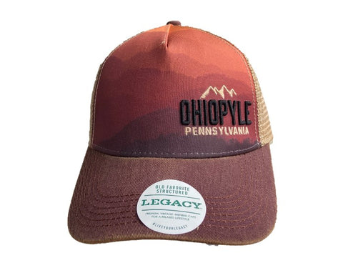 Mountain Sunset Trucker Hat