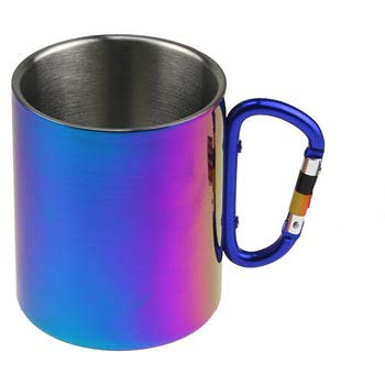 Rainbow Stainless Steel Biner Mug 15 oz