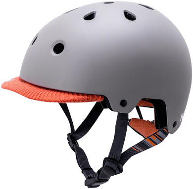 Kali Protectives Saha Vibe Helmet - Matte Gray/Orange