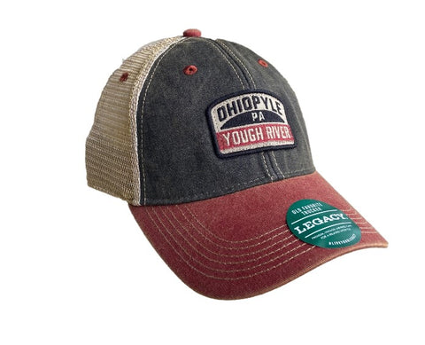 Ohiopyle Yough River Sign Trucker Hat