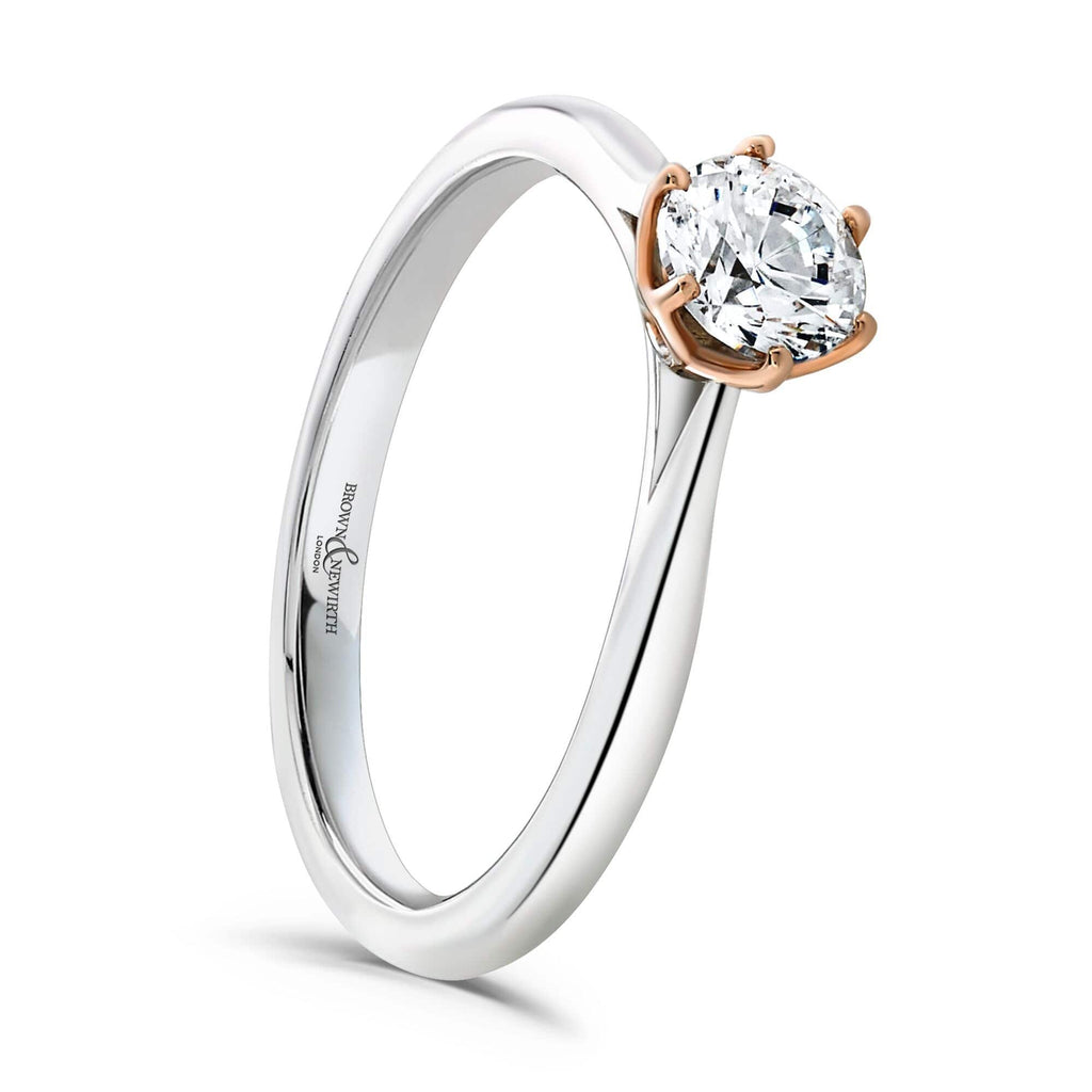 Brown & Newirth Ring Brown & Newirth Delphine 0.50CT Diamond Engagement Ring with Platinum Band