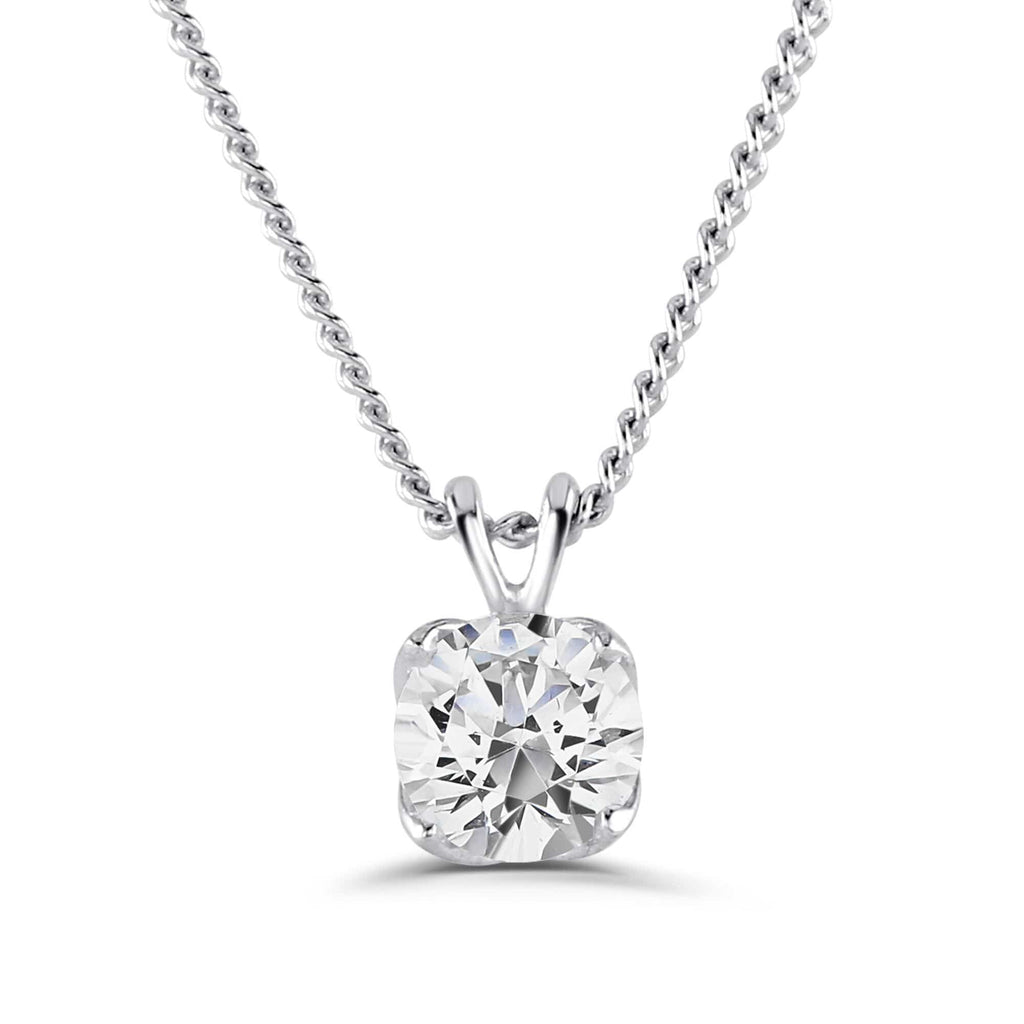 Brown & Newirth Pendant Brown & Newirth Diamond Pendant 0.15CT | 18CT White Gold Claw