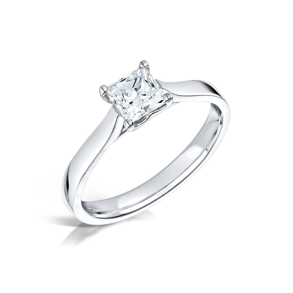 Emson Haig Ring Emson Haig Francesca Engagement Ring | 0.50 CT Diamond with 18K White Gold Band