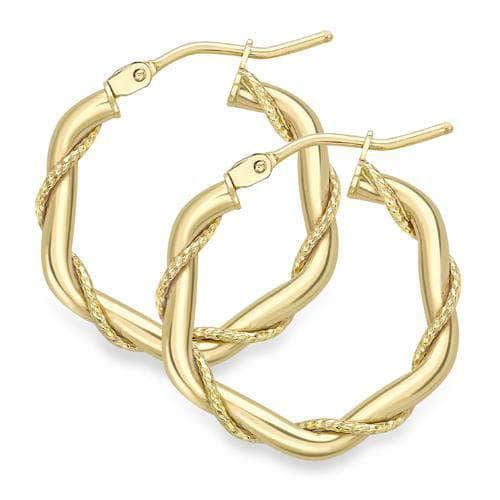 Emson Haig Earrings Emson Haig Hoop Earrings ER322