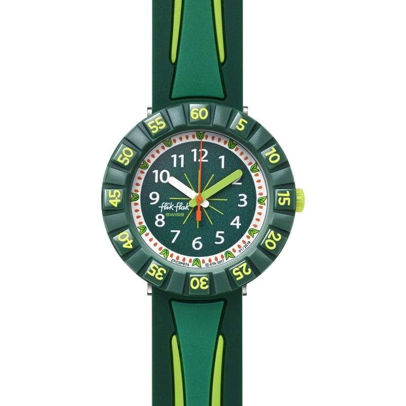 Flik Flak Watch Flik Flak All Green Childrens Watch