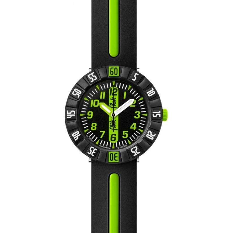 Flik Flak Watch Flik Flak Green Ahead Childrens Watch