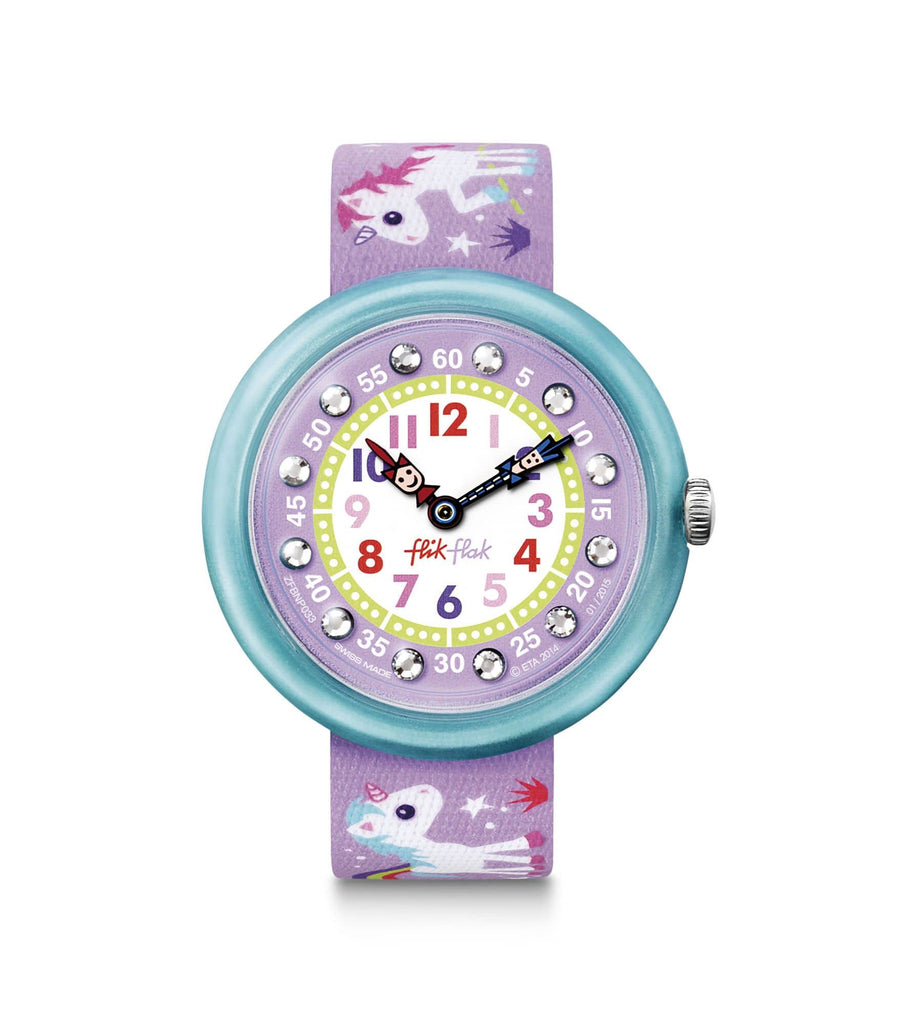 Flik Flak Watch Flik Flak Magical Unicorns Childrens Watch