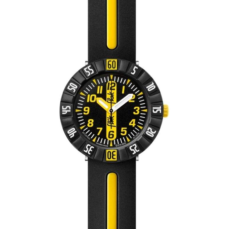 Flik Flak Watch Flik Flak Yellow Ahead Childrens Watch