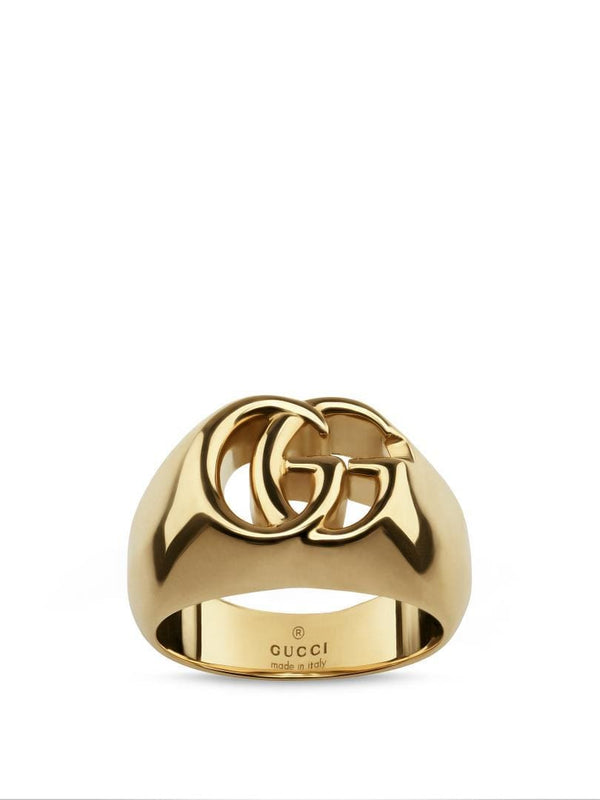 Gucci Ring Gucci GG Running 18CT Gold Thick Ring