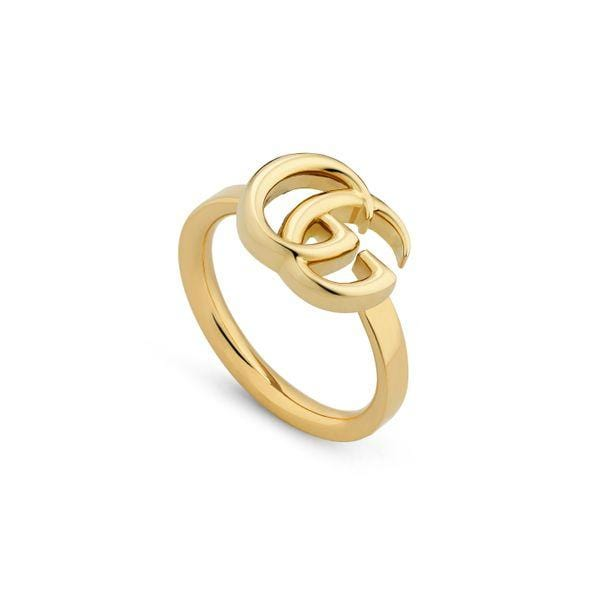 Gucci Ring GUCCI GG Running 18CT Yellow Gold Ring