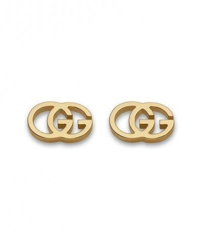 Gucci Earrings Gucci GG Tissue Gold Stud Earrings YBD09407400200U