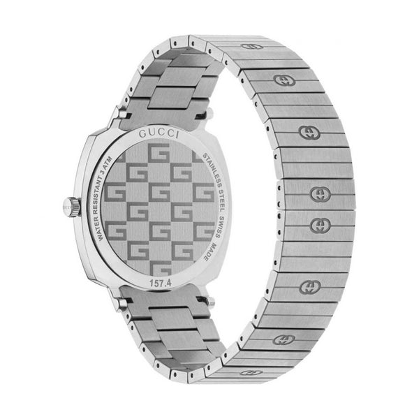 Gucci Watch Gucci grip silver watch YA157410