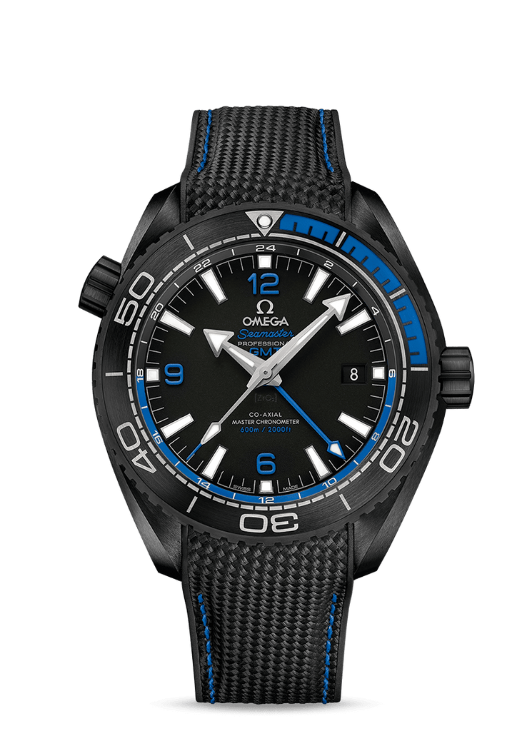 OMEGA Watch OMEGA Deep Black Seamaster Planet Ocean 600M CO-AXIAL Master Chronometer GMT 45.5 MM Watch O215.92.46.22.01.002