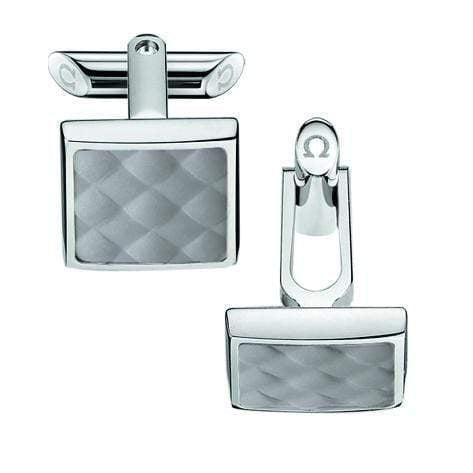 OMEGA Cufflinks OMEGA Rubber Cufflinks