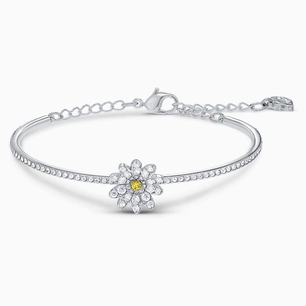 Swarovski Bangle Swarovski Eternal Flower Bangle Yellow Mixed metal finish 5542012