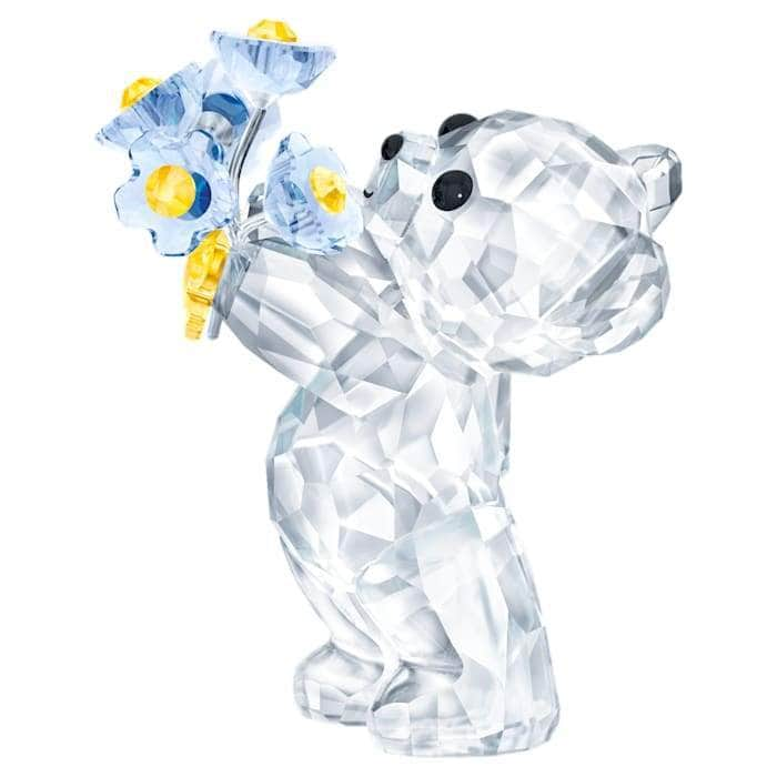 Swarovski Ornament Swarovski Kris Bear - Forget-me-not 5427993