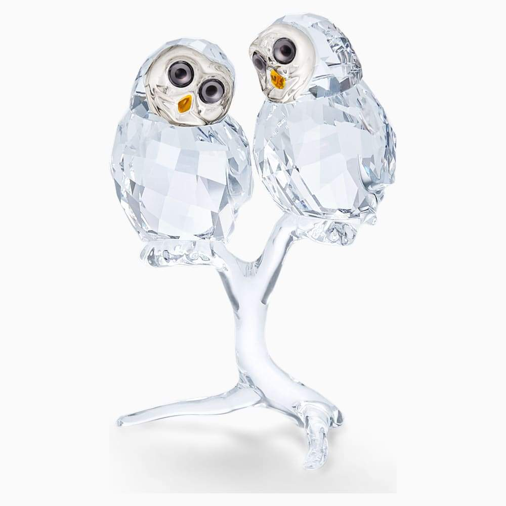 Swarovski Figurine Swarovski Owl Couple Ornament 5493722