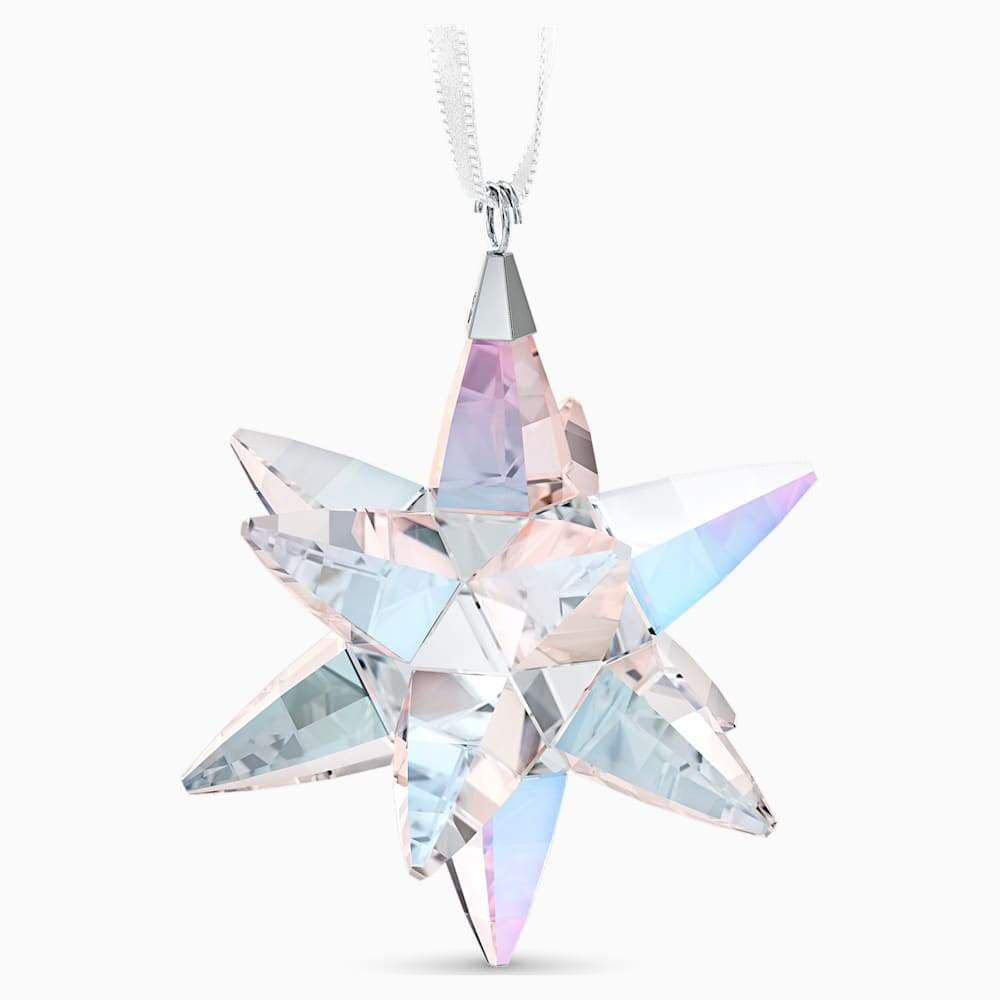 Swarovski Christmas Ornament Swarovski Star Ornament, Shimmer Medium 5545450
