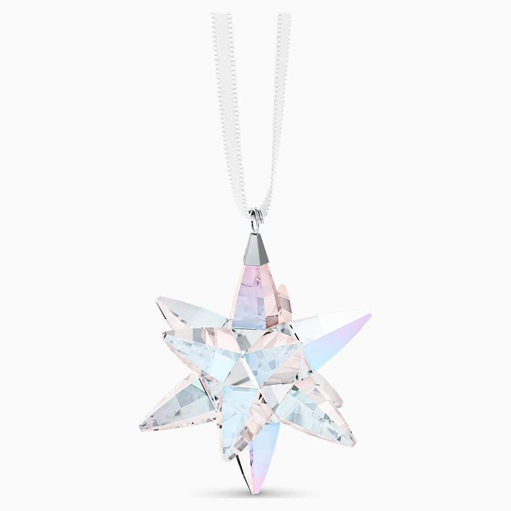 Swarovski Christmas Ornament Swarovski  Star Ornament, Shimmer, Small 5551837