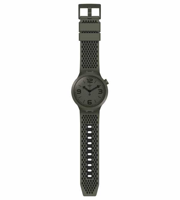 Swatch Watch Swatch BBBubbles Khaki & Black Watch SO27M100