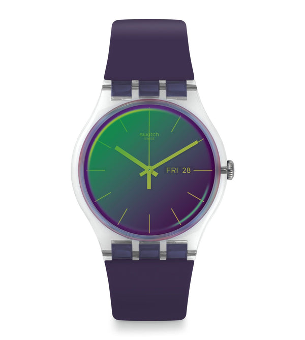Swatch Watch Swatch Polarpurple Watch