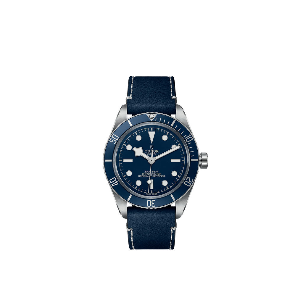 Tudor Watch Tudor Black Bay Fifty-Eight Navy Blue Dial Leather Bracelet Watch M79030B-0002