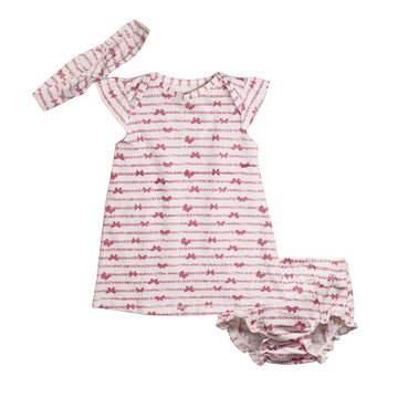 Baby Girl Dress - Pink Birdy - kadambaby.com