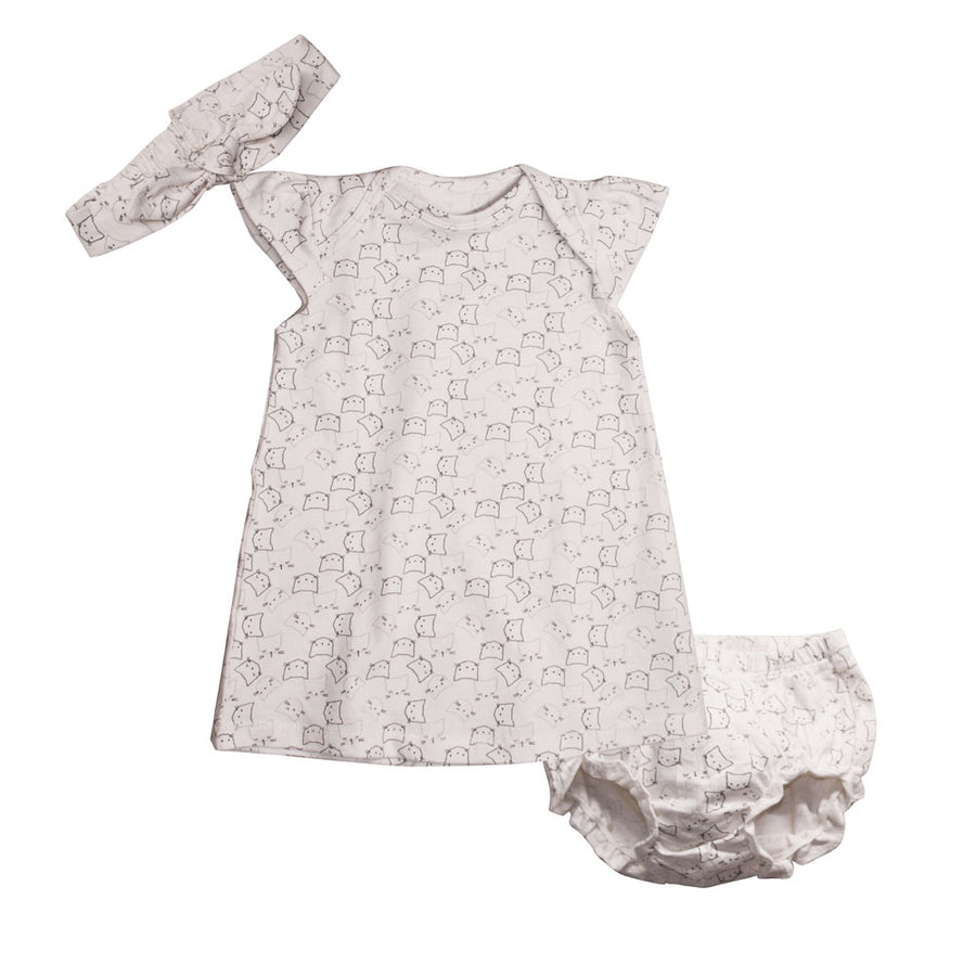 Baby Girl Dress - Cat - kadambaby.com
