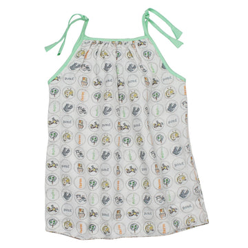 Baby Girl Muslin Summer Dress - Baby - kadambaby.com