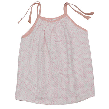 Baby Girl Muslin Summer Dress - Pink - kadambaby.com