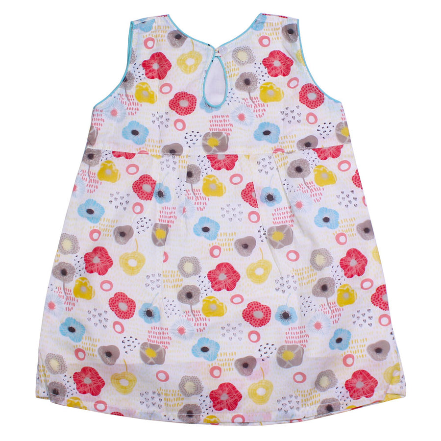 Baby Girl Summer Dress - Flowery - kadambaby.com