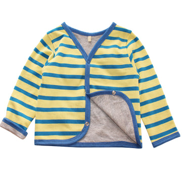Baby Cardigan Jacket - Yellow - kadambaby.com