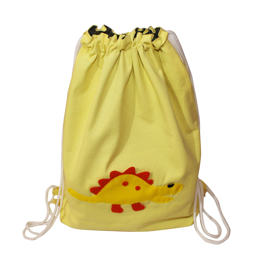 Drawstring Bag for kids- Dino - kadambaby.com