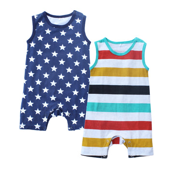 Summer Romper for Newborn Baby Boy
