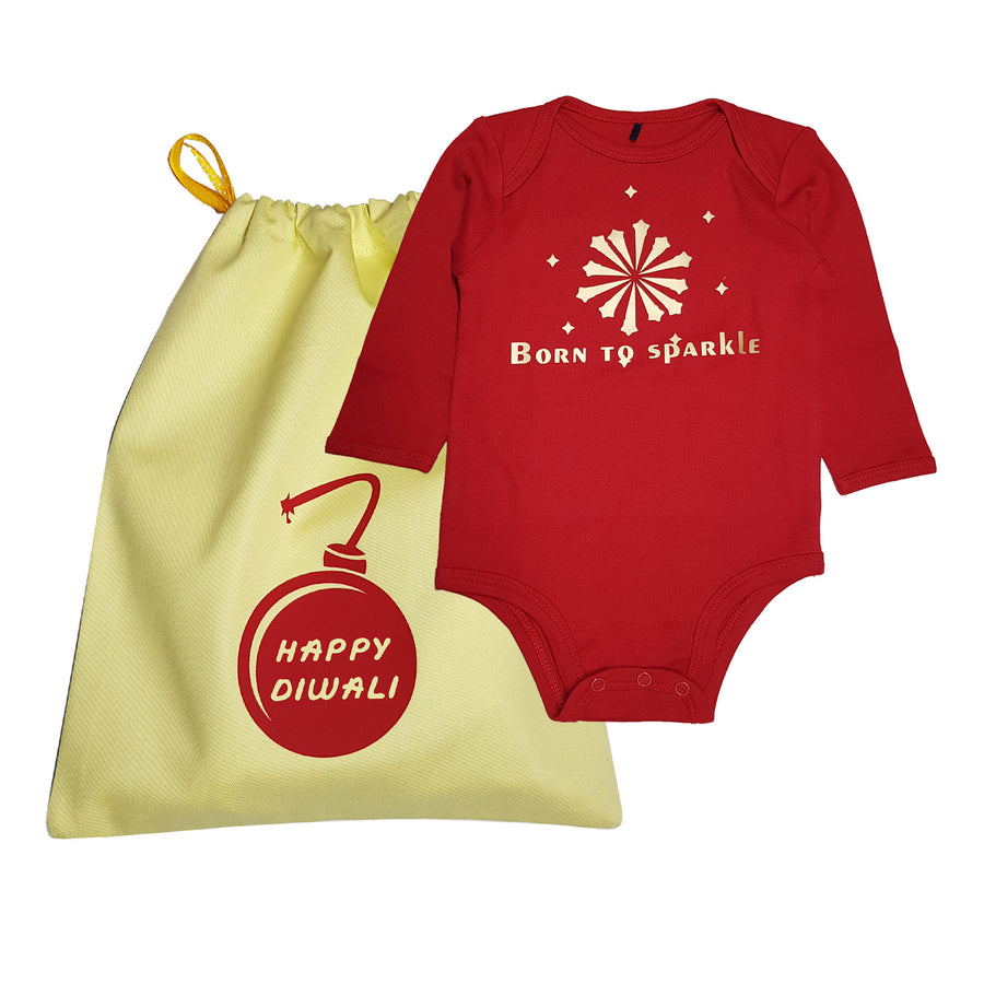 Gift Diwali Baby Dress