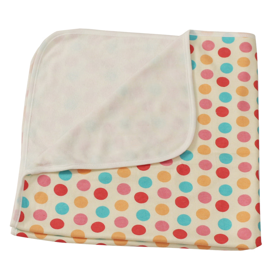Hooded Bath Towel for baby - Pink Polkas - kadambaby.com