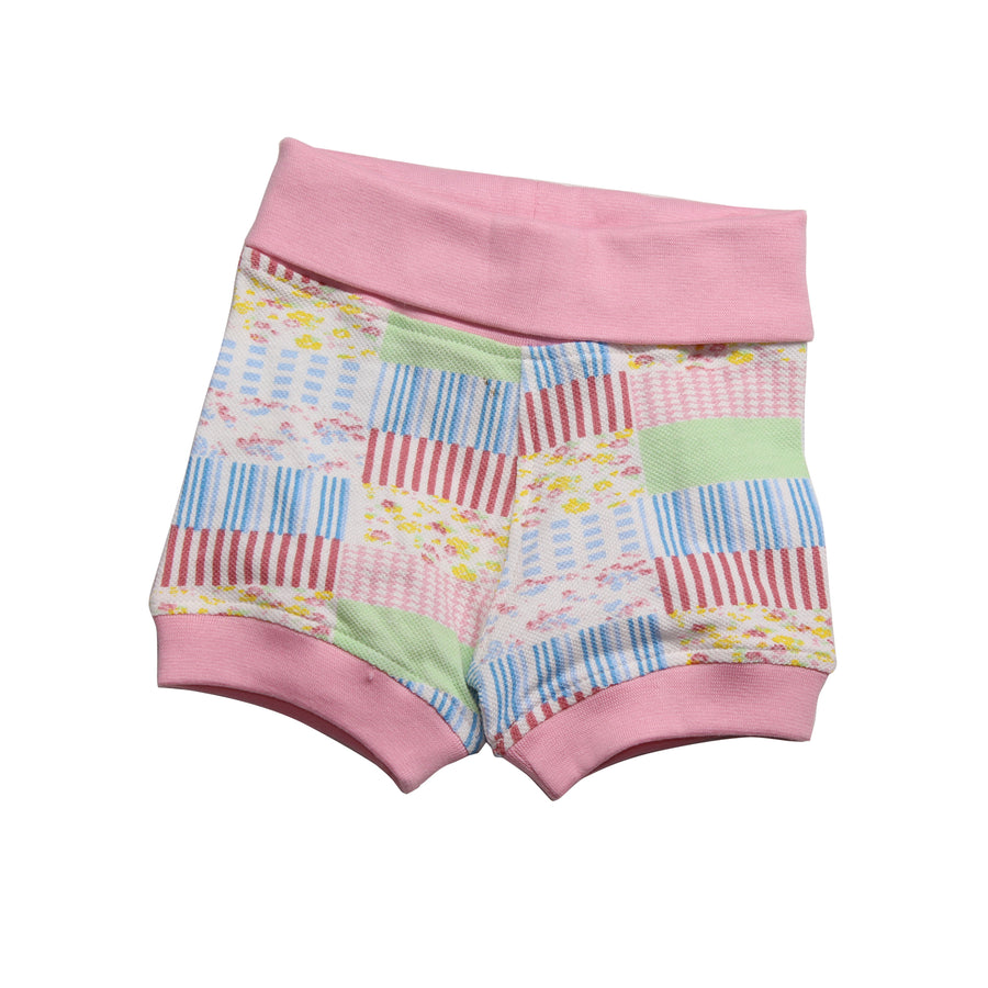 Baby Girl  Bubble Shorts - Pink - kadambaby.com