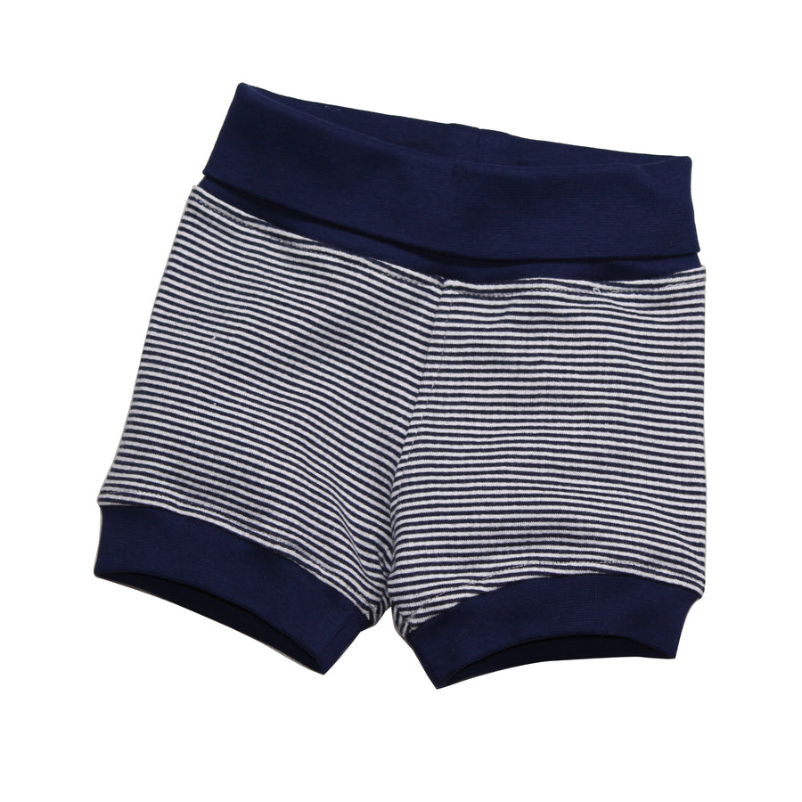Baby Boy Bubble Shorts -Blue - kadambaby.com
