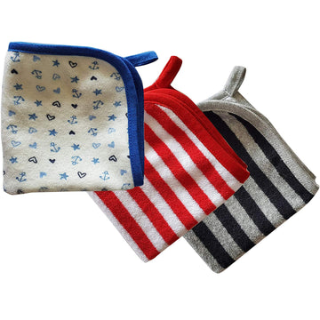 Washcloth - Stripes - kadambaby.com