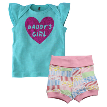 T-Shirt Combo Pack - Daddy's Girl - kadambaby.com