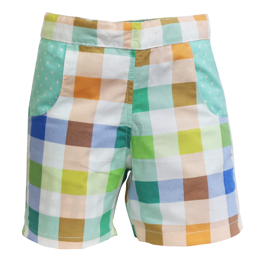 Baby Boy Shorts - Check - kadambaby.com