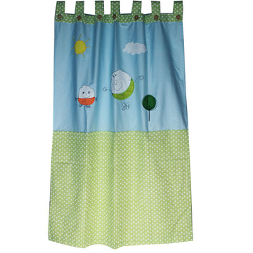 Window Curtain - Doodles - kadambaby.com
