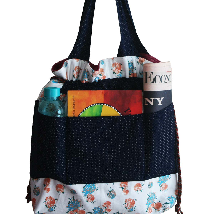 Diaper Bag  (Large) - Flowery - kadambaby.com