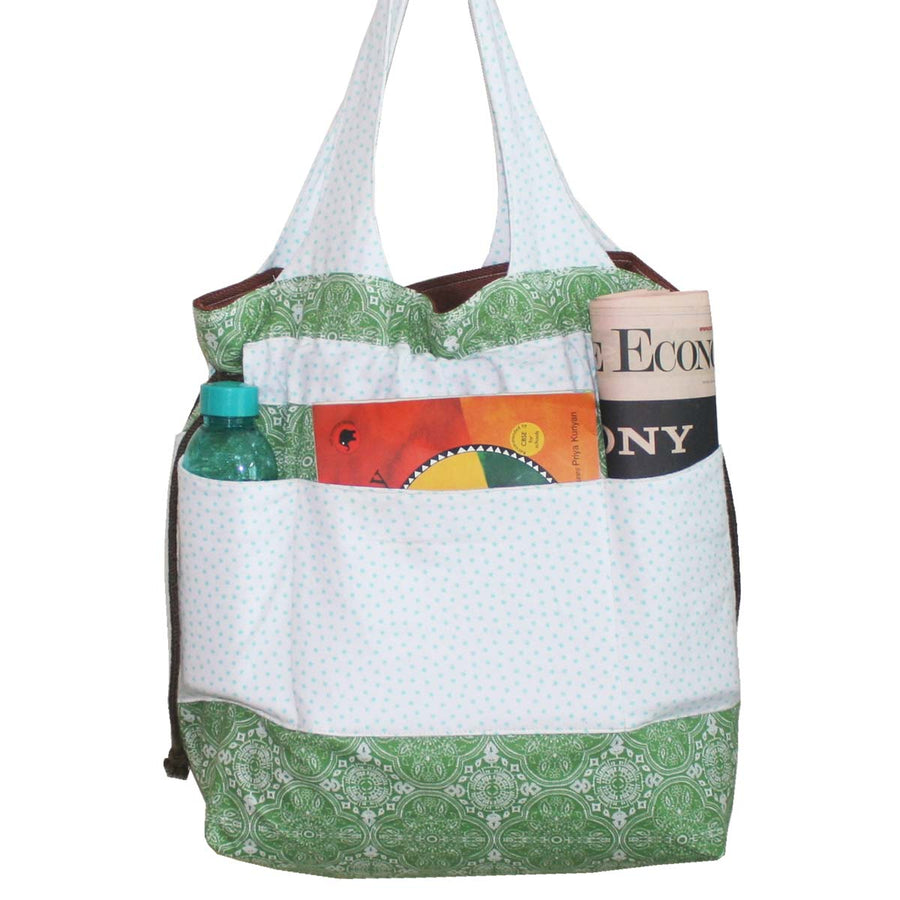 Diaper Bag  (Large) - Green - kadambaby.com