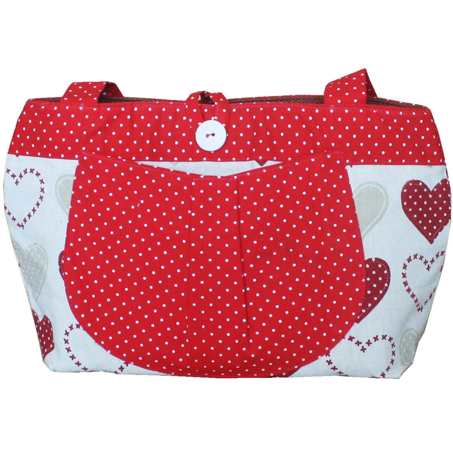Diaper Bag  (Medium) - Red Heart - kadambaby.com