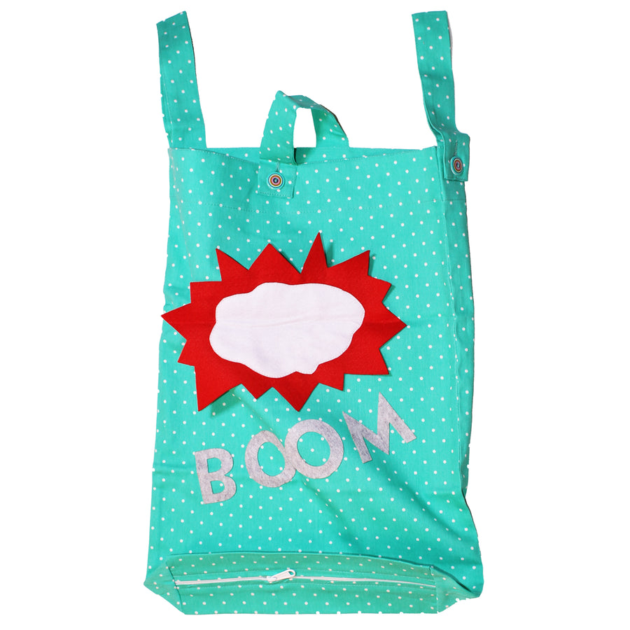 Laundry Bag for Kids, Door-Hanging Laundry Hamper, Small Size Kids Laundry Bag. BOOM - kadambaby.com